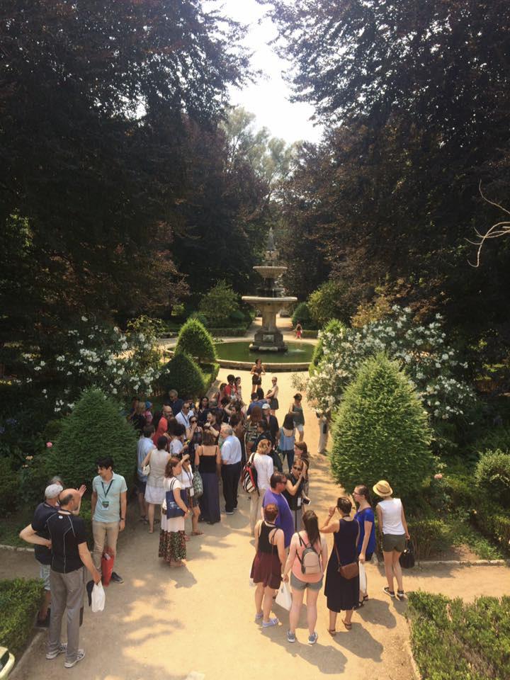 FEBS 2017 Advanced Lecture Course on Oncometabolism: From Conceptual Knowledge to Clinical Applications - Programa Social: visita à Universidade de Coimbra - Jardim Botânico