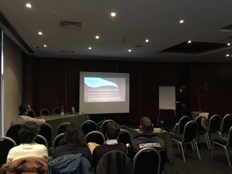 Centro Adapt organizado pela Universidade de Coimbra e colocado em ação ela Organideia, em vários pontos do país.