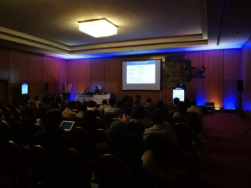 7CN - Sala durante a apresentação de trabalhos