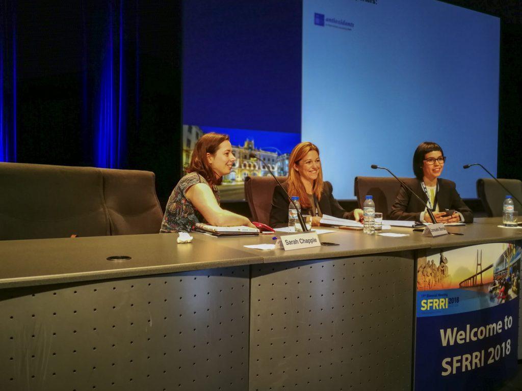 SFRRI 2018 - Moderadores durante a Sessão