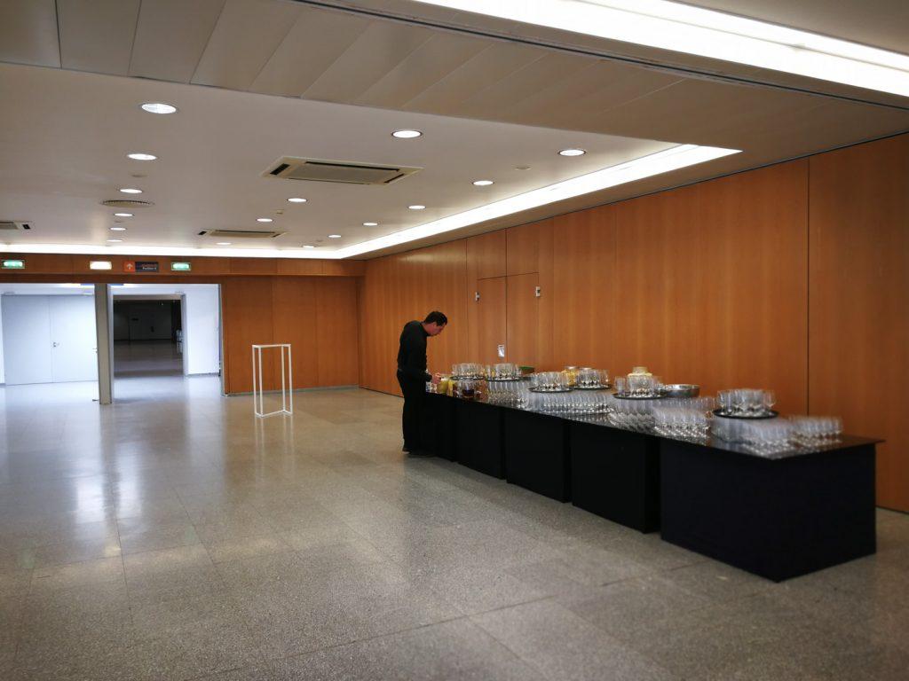 SFRRI 2018 - Preparação dos Catering para Coffee-Breaks