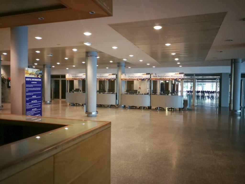 SFRRI 2018 - Secretariado e Sinalética do Evento
