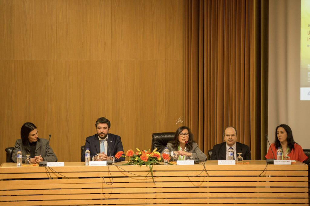 I Congress UBI-HSR - Mesa Presidencial durante o Evento