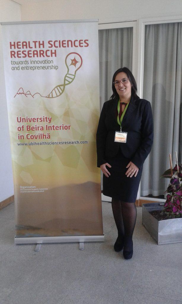 I Congress UBI-HSR - Membro da Equipa Organideia junto ao Roll-up do Evento