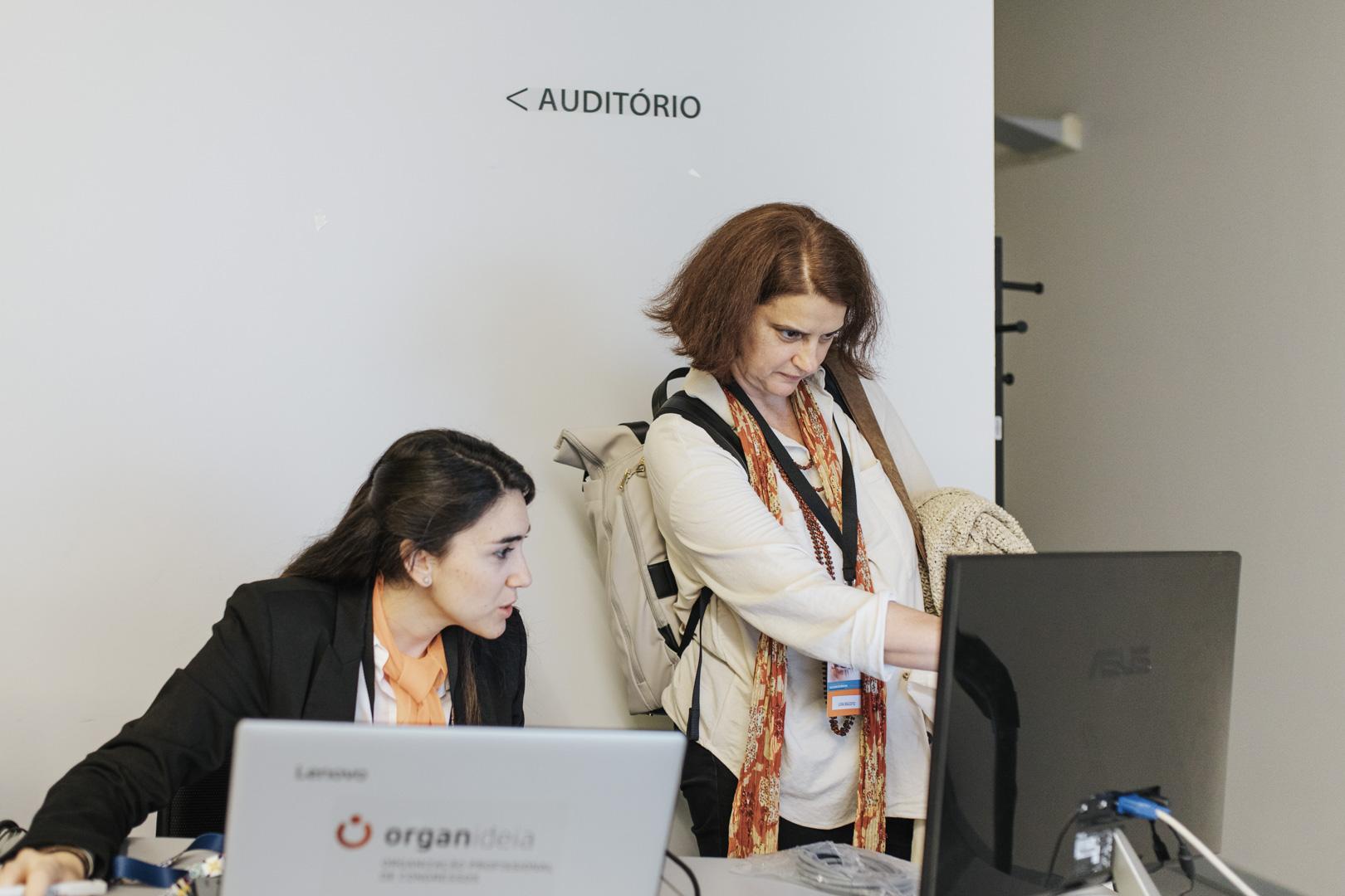 XV Congresso da SPNR - o nosso Slide Desk facilita a apresentação de trabalhos