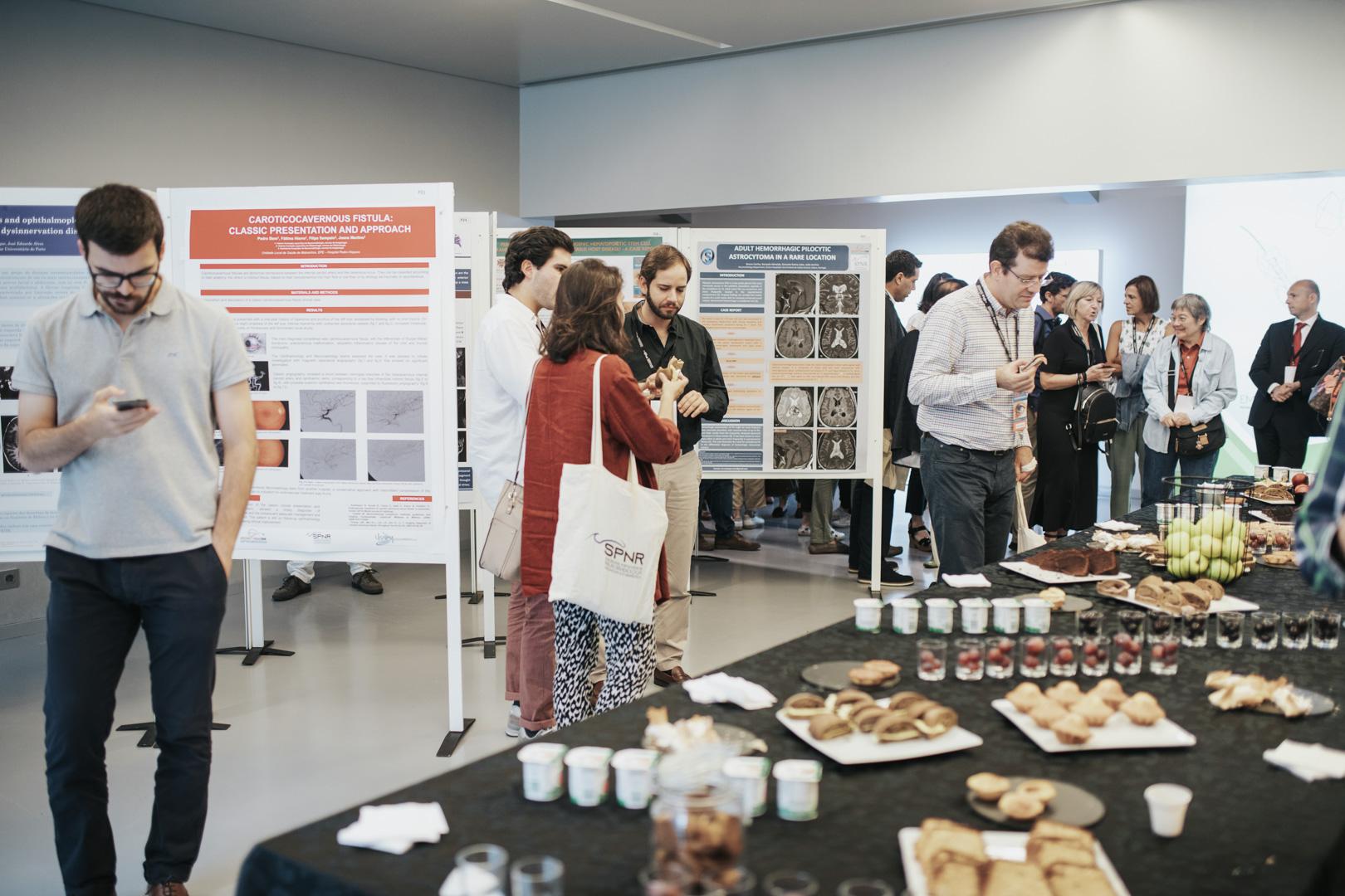XV Congresso da SPNR - Open Space com Exposição de Posters e serviço de Coffee-Break durante o evento