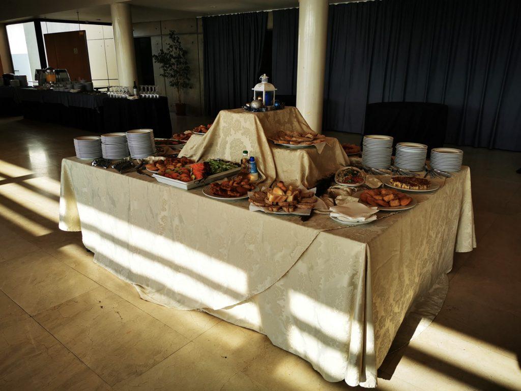 Microbiotec'19 - Pormenor dos almoços durante o evento