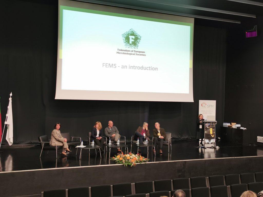 Microbiotec'19 - Abertura do evento no Auditório do Polo II da Universidade de Coimbra